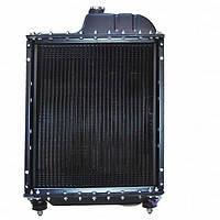 Радиатор водяной МТЗ латунный с металлическими бачками 4-х рядный