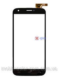 Сенсор (тачскрин) для телефона Doogee Y100 Pro черный