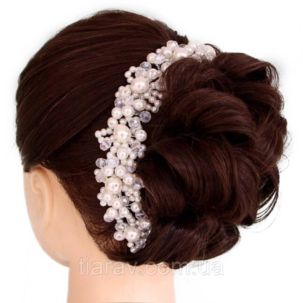 Диадема свадебная тиара украшение для волос Сара гребень тиара модные диадемы