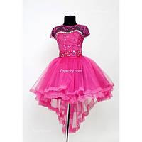 Платье Выпускное Дарина шлейф HarMedp-011Roz