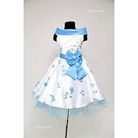 Платье Выпускное Ретро CK014gol ( 7-10 лет )