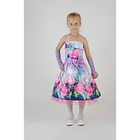 Нарядное платье  Ретро 3D CK-08 (6-10 лет)