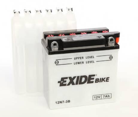 Аккумулятор мото EXIDE 12V 7AH 75A 12N7-3B [135X75X133]