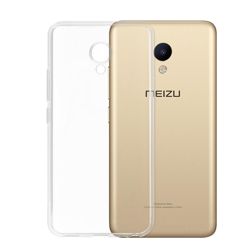 Чехол для Meizu M5 прозрачный