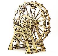 """Механический 3D пазл """"Колесо обозрения"""" Wood Trick, фото 1"""