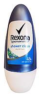Антиперспирант шариковый Rexona Shower Clean Свежесть душа - 50 мл.