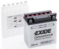 Аккумулятор мото EXIDE 12V 9AH 85A 12N9-3B P+ [135X75X139]