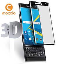 Защитное стекло Mocolo 3D 9H на весь экран для Blackberry Priv черный