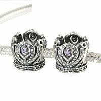Pandora серебряный шарм Корона Пандора