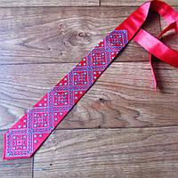 Вишитий галстук для чоловіків