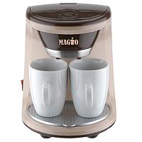 Кофеварка MAGIO МG-345 450 ВТ, 2 чашки в комплекте