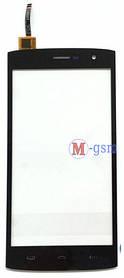 Сенсор (тачскрин) Ergo A550 Maxx Dual Sim черный