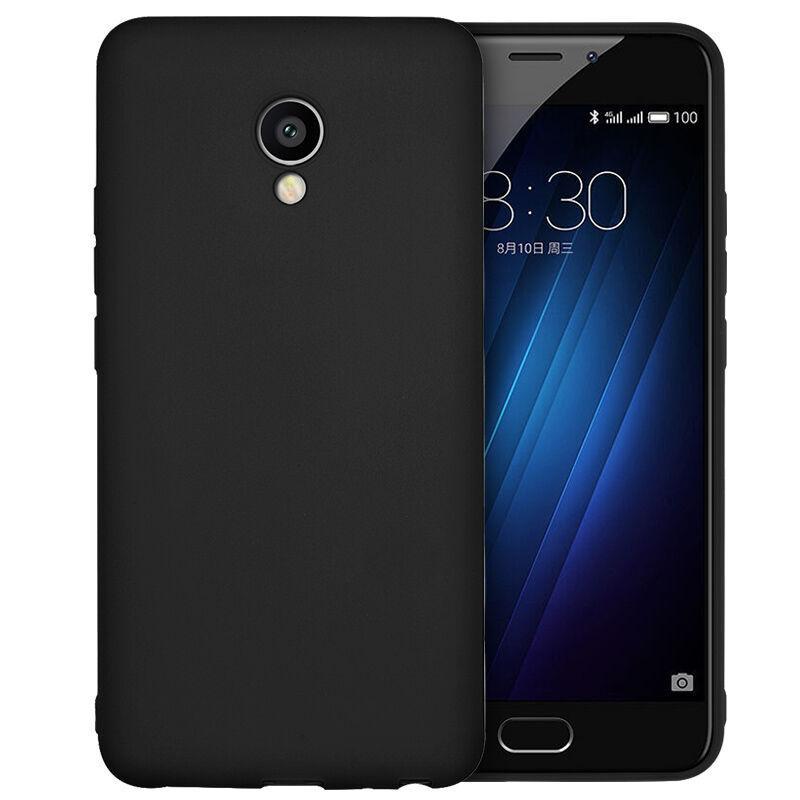 Чехол для Meizu M5 Note черный, бампер, накладка, чохол, силиконовый, силіконовий