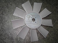 Крыльчатка вентилятора ЯМЗ 238Н,238,236 (универсальн.) (пласт.9-лопаст.) (пр-во Украина) 238Н-1308012