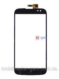 Сенсор (тачскрин) для телефона Gigabyte GSmart Saga S3 черный