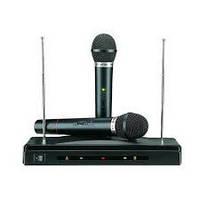 Беспроводный комплект база 2 микрофона WR-306