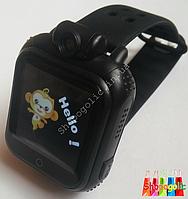 Детские умные часы android с GPS Smart Baby Watch Q200 с камерой 2 Mp (3G) Черный