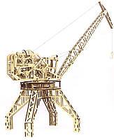 """Коллекционно-сувенирная модель """"Кран"""" Wood Trick"""