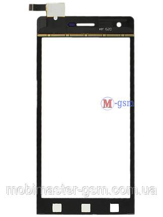 Сенсор (тачскрин) для телефона  Impression ImSmart C471, Doogee DG350 , S-TELL M610 черный, фото 2