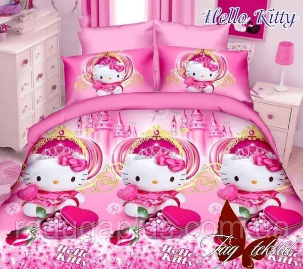 Детское постельное белье Hello Kitty, ранфорс - РАДУГА в Киеве