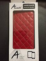 Чехол книжка Avatti HTC One M8 mini красный новый