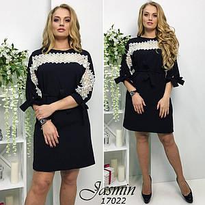 Женское платье №67-17022/1 БАТАЛ