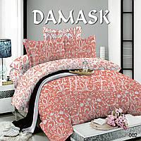 Постельное белье (Евро) поплин Дамаск Viluta 002