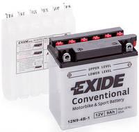 Аккумулятор мото EXIDE 12V 9AH 85A 12N9-4B-1 L+ [135X75X139]