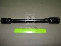 Ключ балонный ГАЗЕЛЬ, КАМАЗ (24х27) (усиленн.) L=370 мм  (пр-во г.Павлово) ИП-116 У
