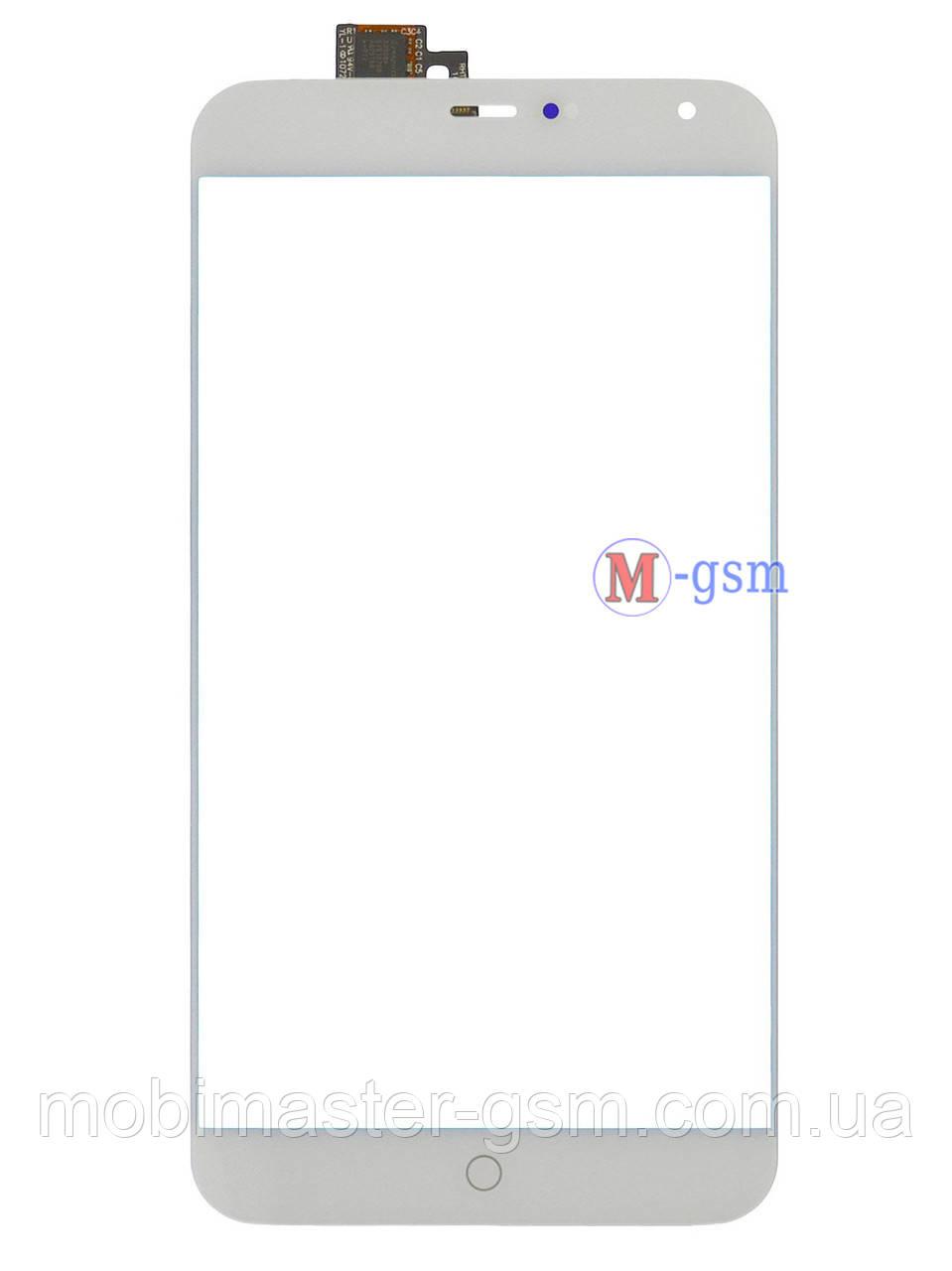 Сенсор (тачскрин) для телефона Meizu MX4 Pro белый