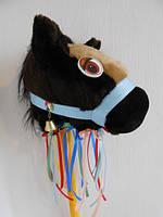 Лошадка на палке, Лошадь, Конь игрушка для детей