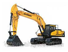 HX430L  · Двигатель Cummins QSL 9 · Ковш 1,90 (2,49) (㎥ (ярда3)) · Рабочий вес 44120 (97270) (кг (фунт)) · Эталонная модель HX430L