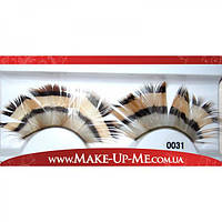 Фантазийные перьевые накладные ресницы 0031 + клей - 0031-1