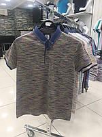 Мужская футболка меланж норма Турция, фото 1