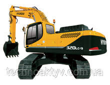 R320LC-9  · Двигатель CUMMINS QSC · Ковш 1,44 (1,88) (㎥ (ярда3)) · Рабочий вес 33000 (72750) (кг (фунт)) · Эталонная модель R320LC-9