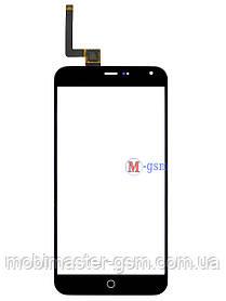 Сенсор (тачскрин) для телефона  Meizu M1 Note черный
