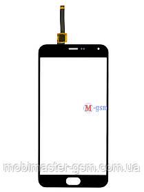 Сенсор (тачскрин) для телефона Meizu M2 Note черный