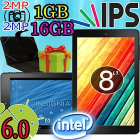 Планшет- оригинал Insignia NS-P08A7100 1GB/16 GB, IPS, 6 андроид