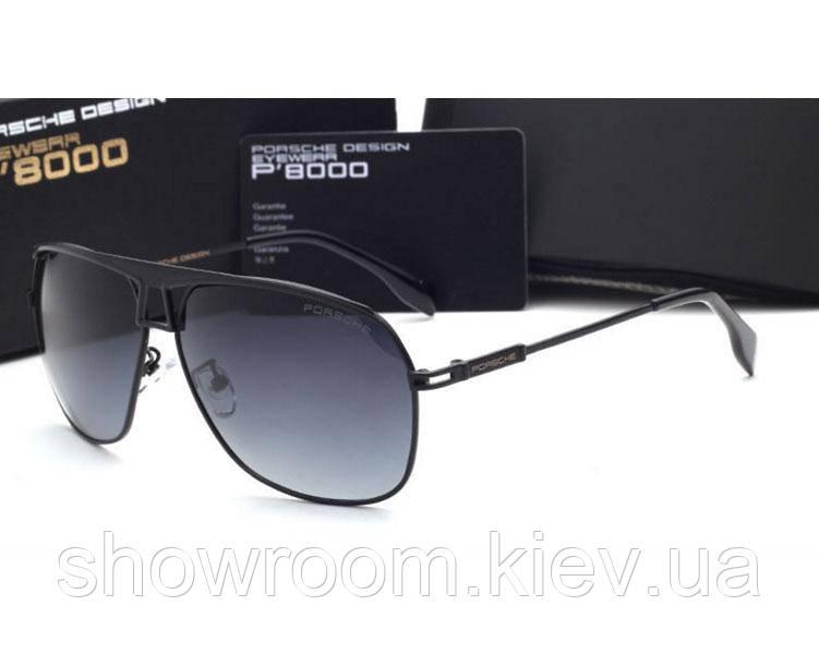 Солнцезащитные очки в стиле Porsche Design (8850 ) black, фото 1