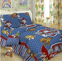 Детское постельное белье для мальчика Paw patrol, поплин