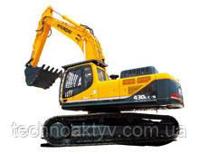 R430LC-9  · Двигатель HYUNDAI HE8.9 · Ковш 1,9 (2,49) (㎥ (ярда3)) · Рабочий вес 42600 (93920) (кг (фунт)) · Эталонная модель R430LC-9