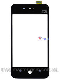 Сенсор (тачскрин) для телефона  Meizu MX черный