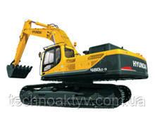 R480LC-9  · Двигатель CUMMINS QSM11 · Ковш 2,15 (2,81) (㎥ (ярда3)) · Рабочий вес 48100 (106040) (кг (фунт)) · Эталонная модель R480LC-9