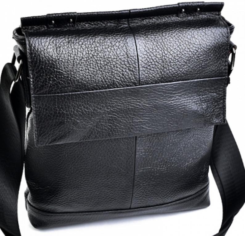 37f56eed2c75 Мужская сумка - планшет из натуральной кожи чёрного цвета: продажа ...