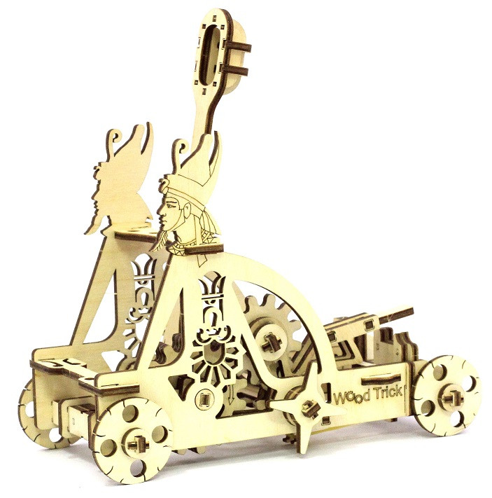 "Механический 3D пазл ""Катапульта"" Wood Trick"