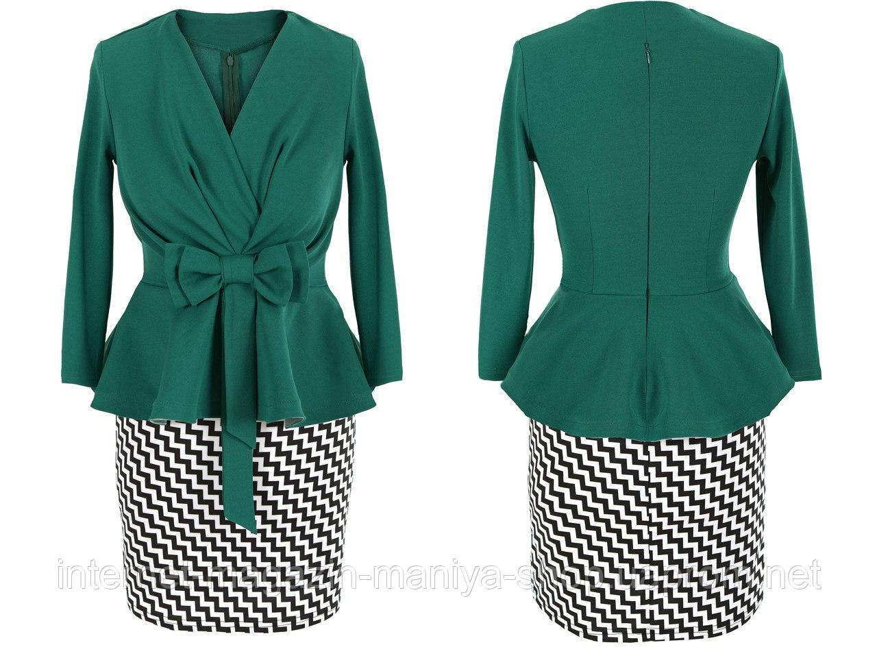 Платье женское бант №  3289S