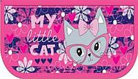 """Пенал JO-17023 """"My Little Cat"""" 1отделение 2отворота, внутри цветной фон +расписание"""