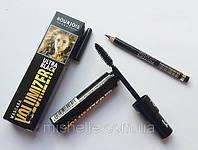 Тушь для ресниц с карандашом Bourjois Ultra Black Volumizer ( буржуа ультра блэк волюмайзер )