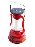 Фонарь лампа Luxury 5850 TY, 24SMD, динамо, солн. батарея