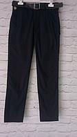 Летние штаны бордовые  для мальчиков 152-176